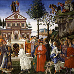 The Temptations of Christ, Alessandro Botticelli