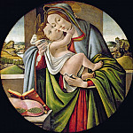 Alessandro Botticelli - Madonna and Child (studio of)