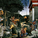The Trials of Moses, Alessandro Botticelli