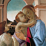 Madonna and Child with Angel, Alessandro Botticelli