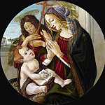 Mary and Child with the boy St. John , Alessandro Botticelli