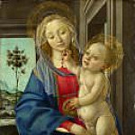 The Virgin and Child with a Pomegranate , Alessandro Botticelli