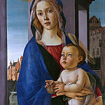 Alessandro Botticelli - The Virgin and Child