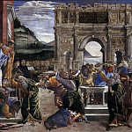 The Punishment of Korah, Alessandro Botticelli