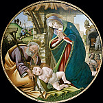 Adoration of the Christ Child, Alessandro Botticelli