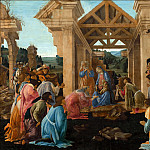 The Adoration of the Magi, Alessandro Botticelli