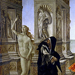 Uffizi - Calumny of Apelles (detail - Penitence and Naked Truth)