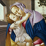 Alessandro Botticelli - Madonna and Child