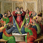 The Descent of the Holy Ghost , Alessandro Botticelli