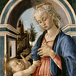 Alessandro Botticelli - Virgin and Child