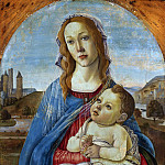 Alessandro Botticelli - Virgin Mary and Child