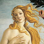 The Birth of Venus, detail