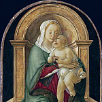Alessandro Botticelli - The Madonna and Child with a pomegranate