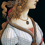Alessandro Botticelli - Portrait of a woman