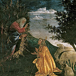 Scenes from the Life of Moses detail, Alessandro Botticelli