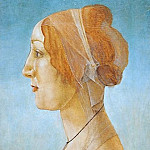 Portrait of a Woman, Alessandro Botticelli