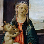 Madonna of the Sea, Alessandro Botticelli