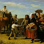 The Vintage at Chateau Lagrange, Jules Breton