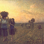 Jules Breton - The Last Gleanings