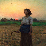 Jules Breton - The Song of the Lark