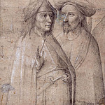 Two oriental men , Hieronymus Bosch