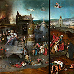 Hieronymus Bosch - The Temptation of Saint Anthony