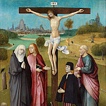 Calvary with Donor, Hieronymus Bosch