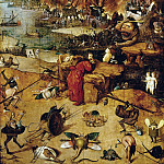 Hieronymus Bosch - Temptation of Saint Antony (follower)