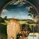 Hieronymus Bosch - The Temptation of Saint Anthony (follower)