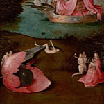 Hieronymus Bosch - The Last Judgement, left wing - Paradise