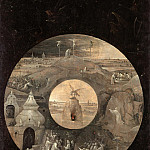 Hieronymus Bosch - Saint John on Patmos (reverse side - Scenes from the Passion of Christ and the Pelican with Her Young)