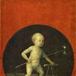 Hieronymus Bosch - Christ Carrying the Cross (reverse side - Christ Child)