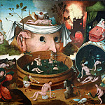 Hieronymus Bosch - The Vision of Tnugdalus (school)