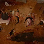 The Last Judgement, right wing - The hell, Hieronymus Bosch