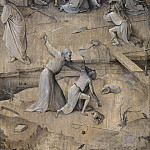 Temptation of St. Anthony, outer wings of the triptych - The Taking of Christ, Hieronymus Bosch
