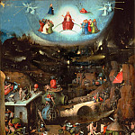 The Last Judgement, central panel, Hieronymus Bosch