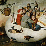 Hieronymus Bosch - The Concert in an Egg (Copy after a lost original)