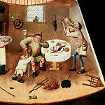Hieronymus Bosch - The Seven Deadly Sins and the Four Last Things - Gluttony (workshop or follower)
