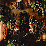 The Last Judgement, right wing, Hieronymus Bosch
