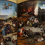 Hieronymus Bosch - Temptation of Saint Anthony (workshop)