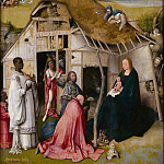 Adoration of the Magi, central panel, Hieronymus Bosch