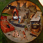 Hieronymus Bosch - The Seven Deadly Sins and the Four Last Things - Hell (workshop or follower)