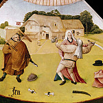 Hieronymus Bosch - The Seven Deadly Sins and the Four Last Things - Wrath (workshop or follower)