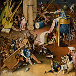 The Garden of Earthly Delights, right wing - Hell, Hieronymus Bosch