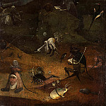 Hieronymus Bosch - Hermit Saints Triptych - Saint Anthony
