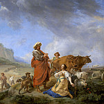 Nicolaes (Claes Pietersz.) Berchem - Ruth and Boaz