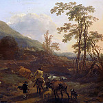 Nicolaes (Claes Pietersz.) Berchem - Drovers with the herd