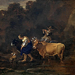 Nicolaes (Claes Pietersz.) Berchem - The ford