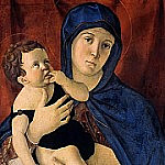 Maria with the child, Giovanni Bellini