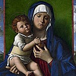 Giovanni Bellini - The Virgin and Child [Workshop]